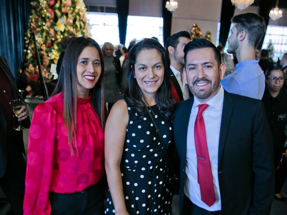 World AIDS Day Luncheon 2019 Irene Flores, Stephanie Estala, Jose Calderon