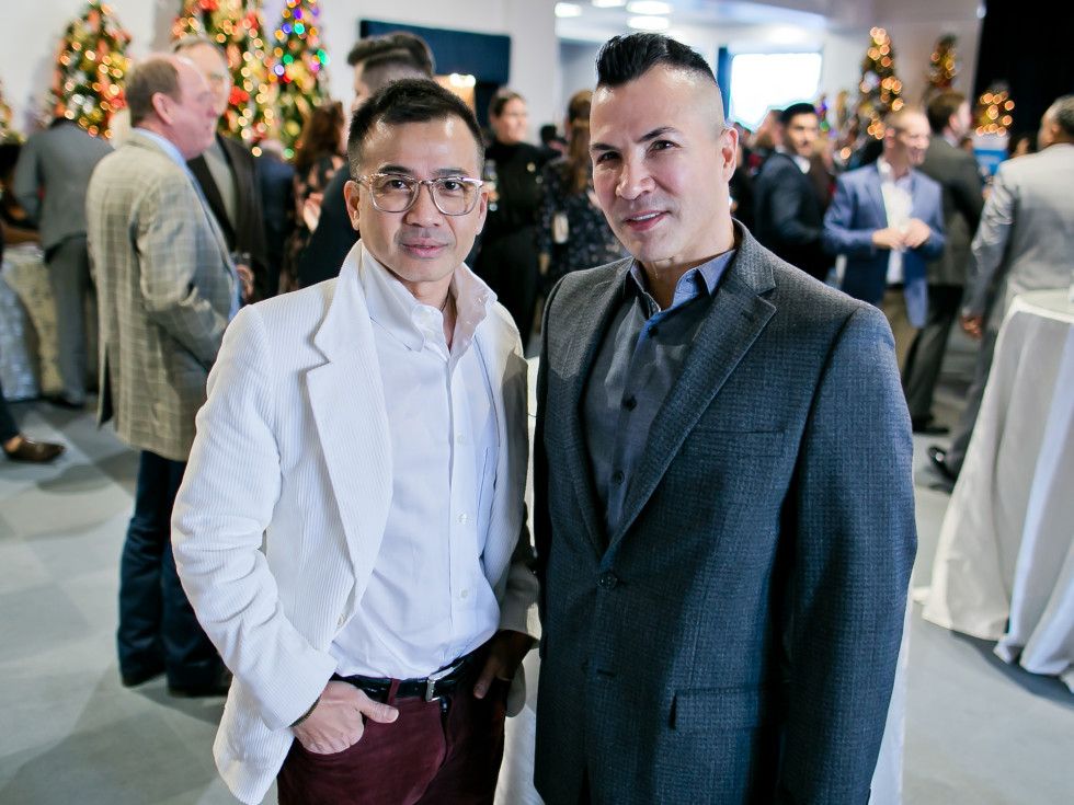 World AIDS Day Luncheon 2019 Viet Hoang, Randall Gonzales