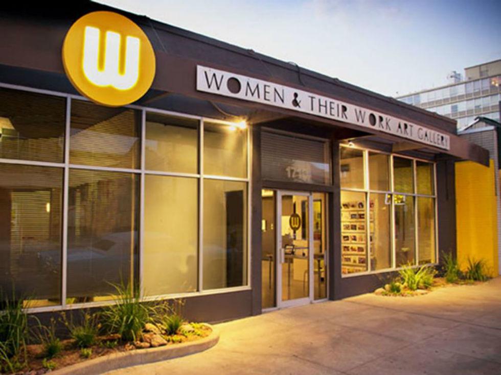Women & Their Work art gallery