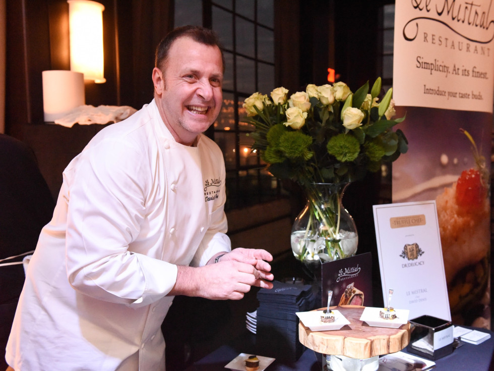 Houston, Truffle Chef Charity Challenge, January 2016, Le Mistral chef David Denis