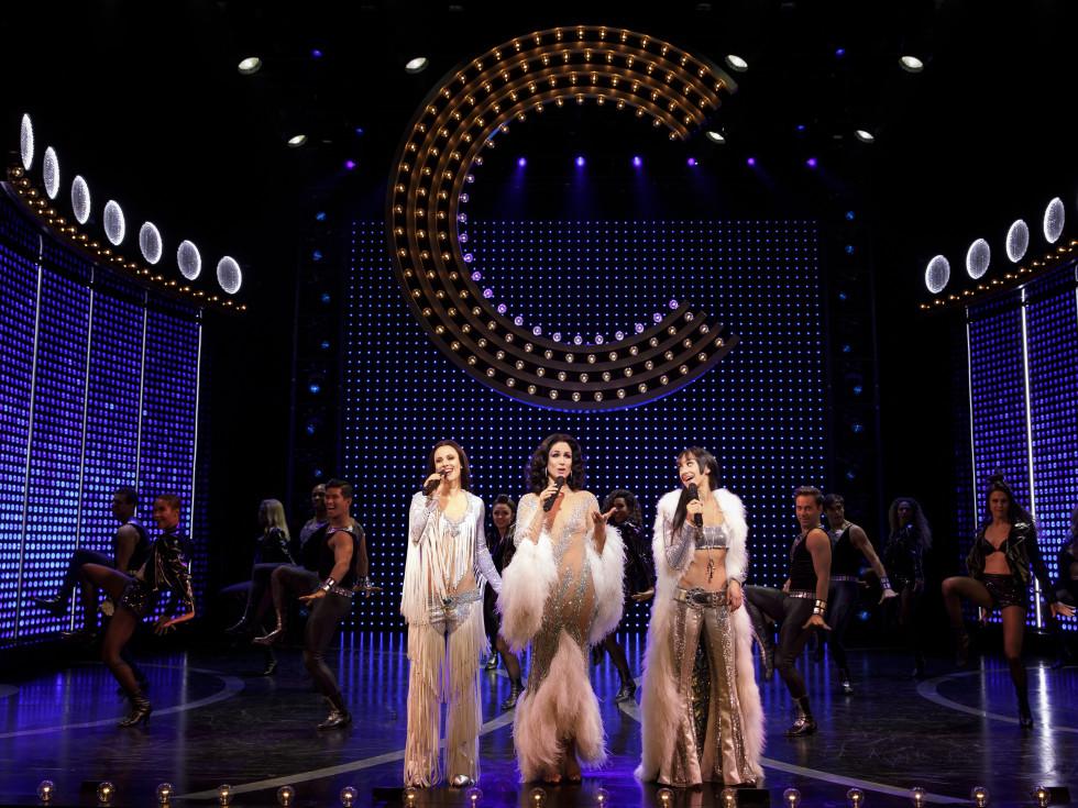 Original Broadway cast of The Cher Show