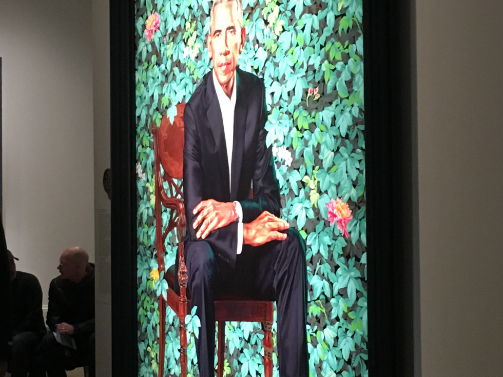 National Portrait Gallery 2018/Obama Portrait
