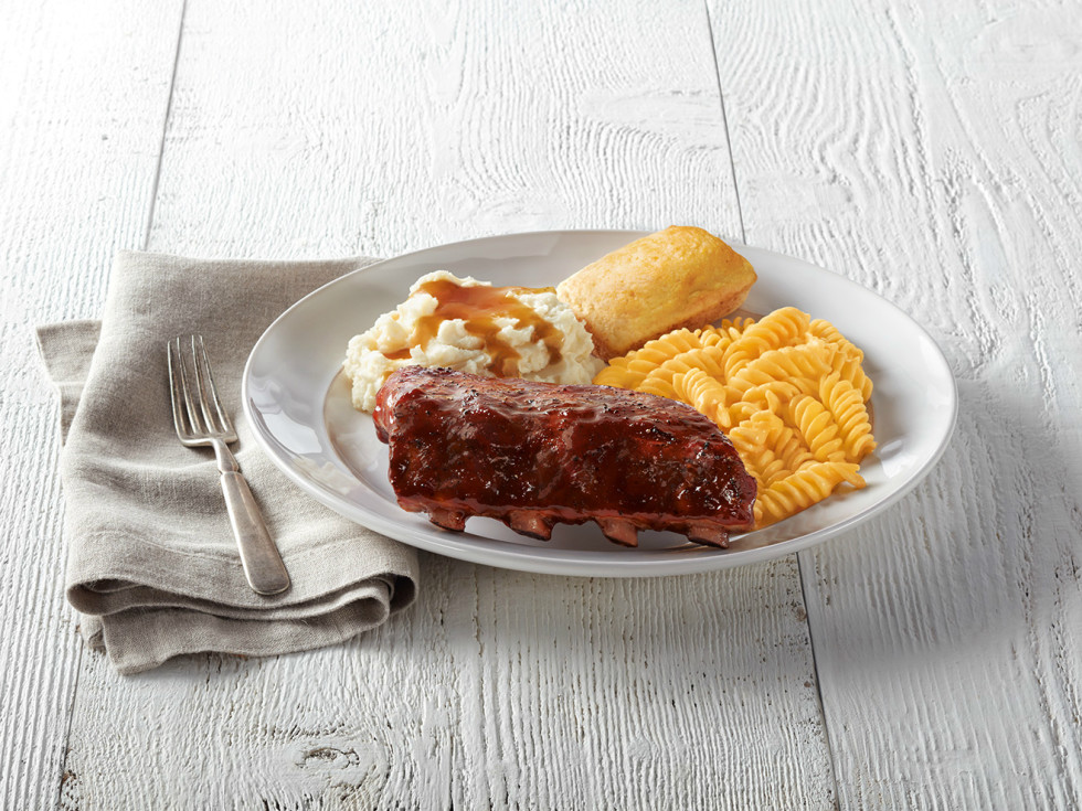 Drive-Thru Gourmet - Boston Market half ribs
