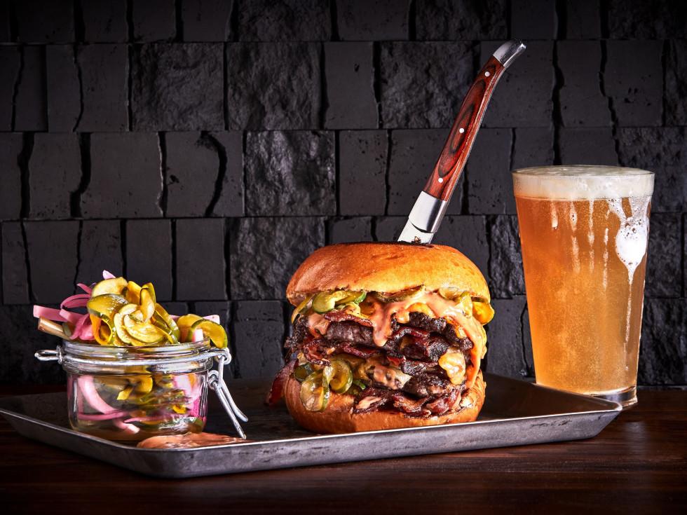 Tributary restaurant burger beer