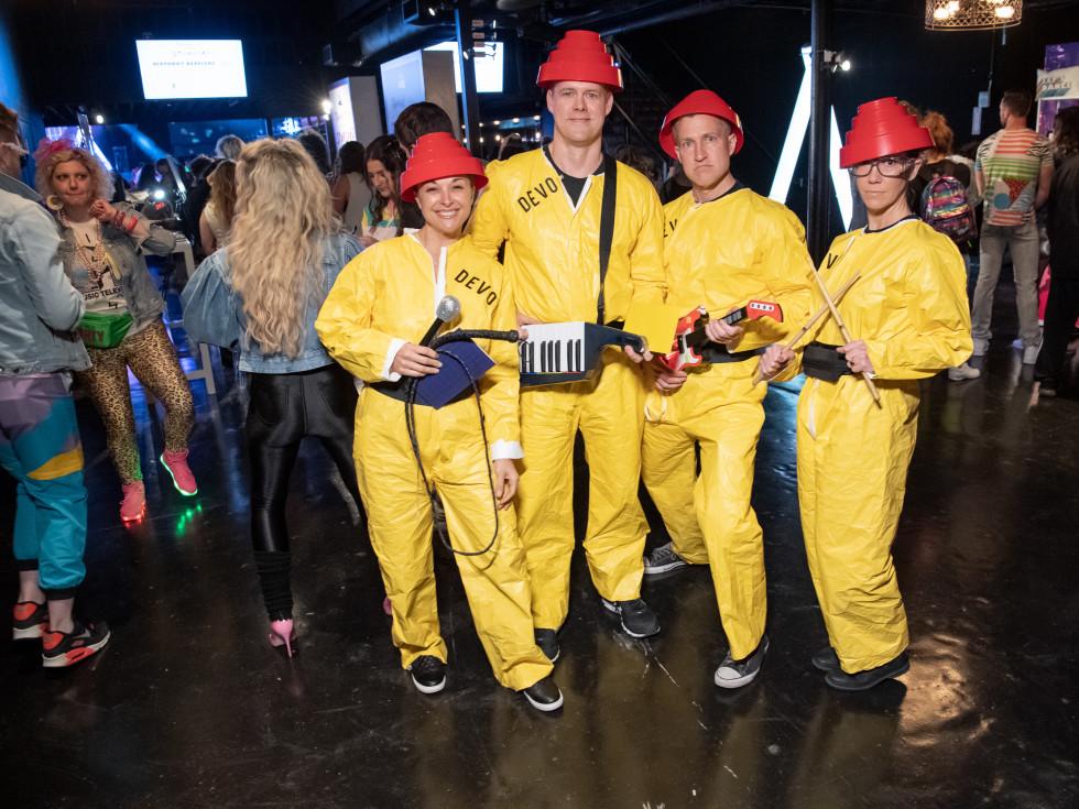 Jessica and Jeff Jones, Rick Baron, Stacy Locke