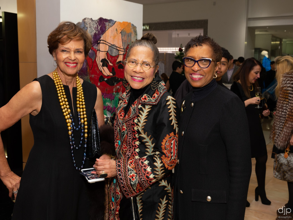 Social Book Neiman Marcus Page Parkes anniversary 2020 Gayla Gardner, Merele Yarborough and Sharon Owens