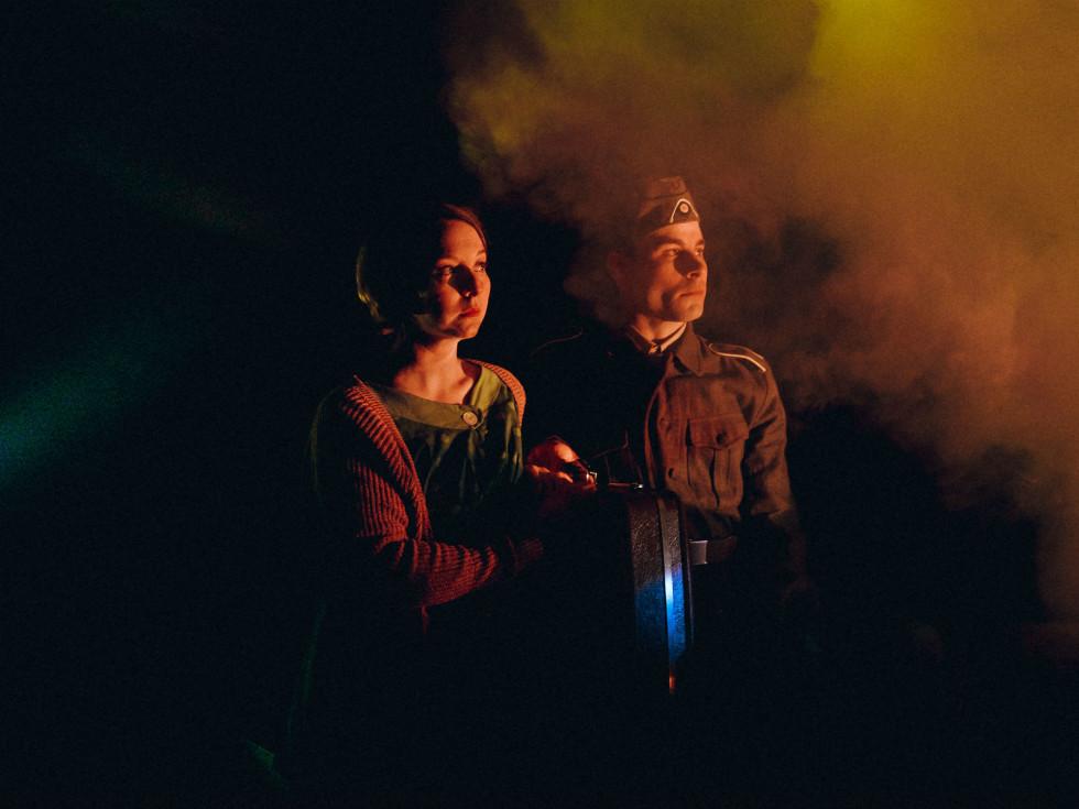 Amphibian Stage Productions presents Hans & Sophie