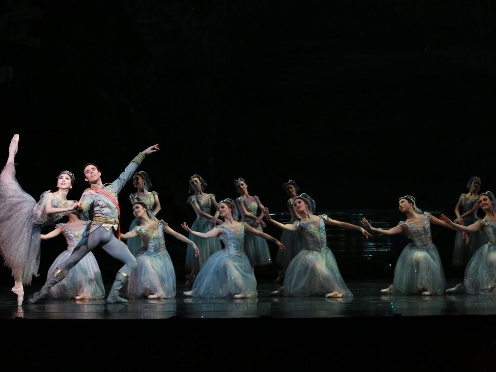 Artists of Houston Ballet in Ben Stevenson's The Sleeping Beauty