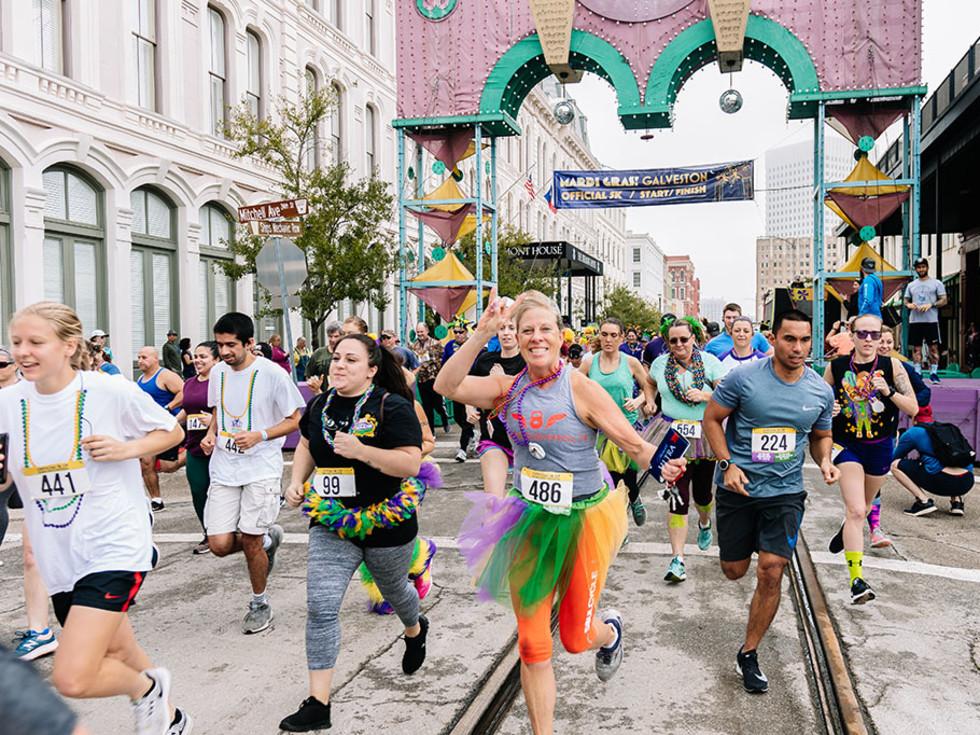 Mardi Gras Galveston Mardi Gras 5K run