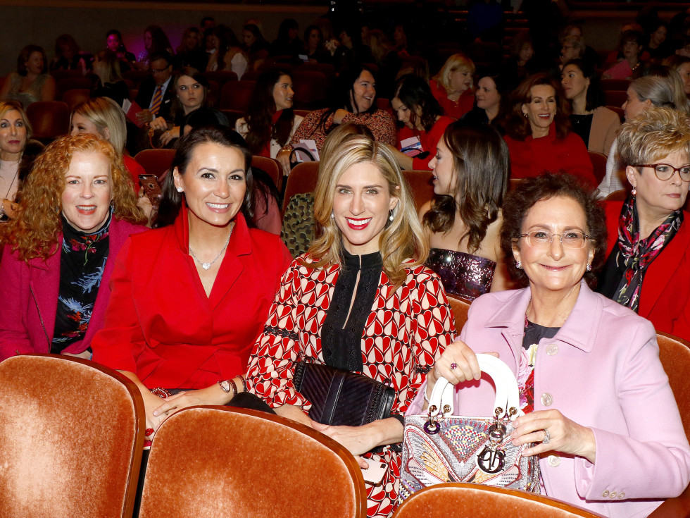 Nancy Nasher, Kirstin Gibbins, Kimberly Schlegel Whitman and Paula Acosta