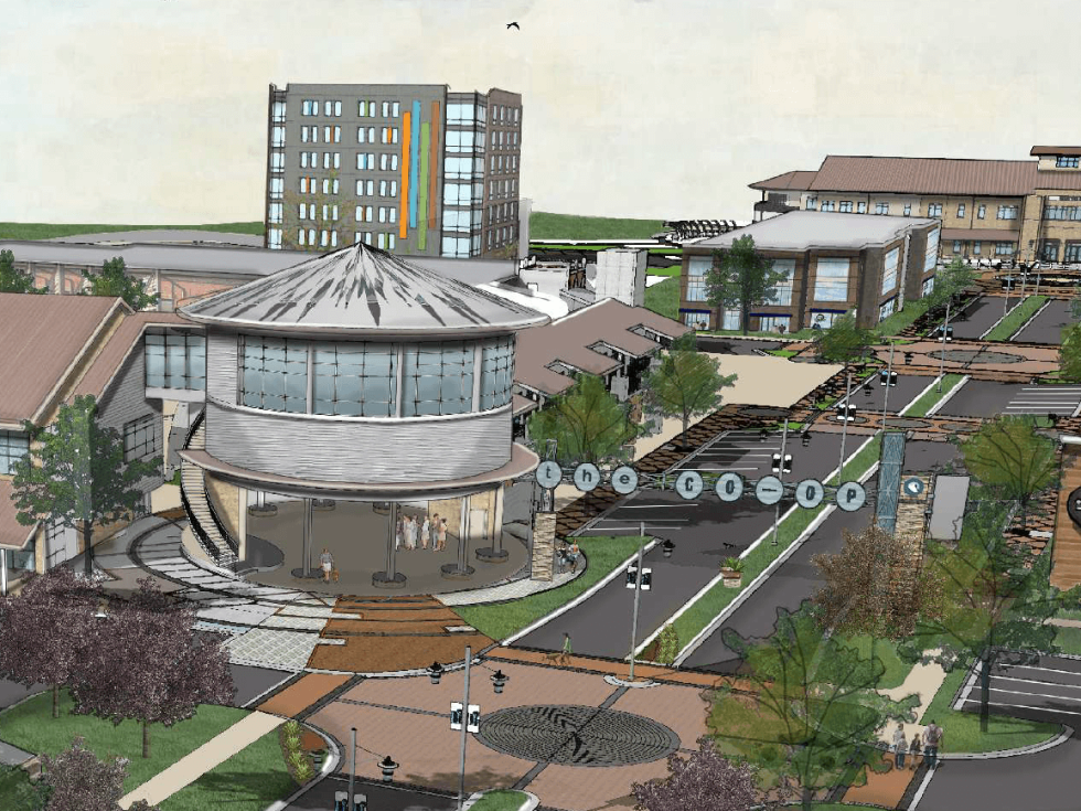 Hutto Co-Op district rendering