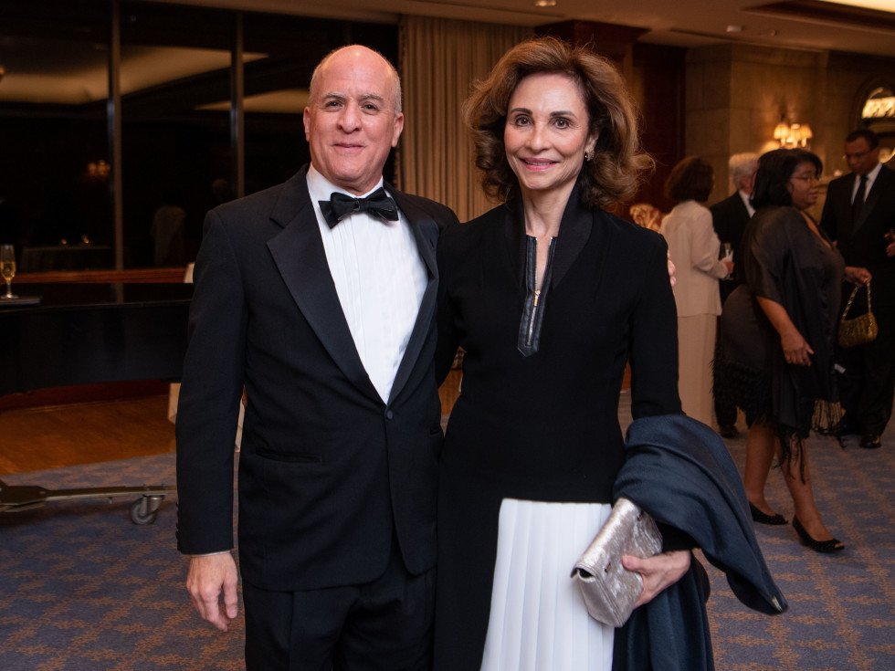 Inprint Poets & Writers Gala 2020: Executive Director Rich Levy, Consuelo Duroc-Danner