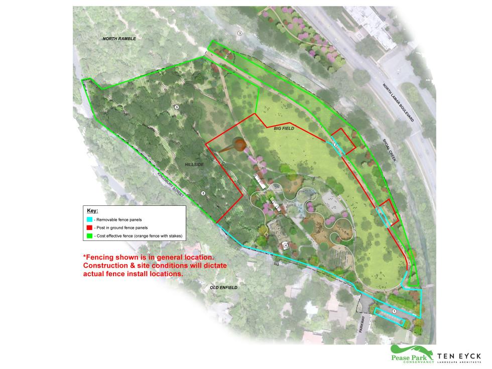 Pease Park Kingsbury Commons