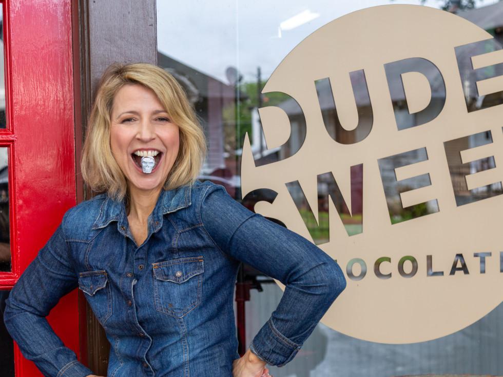Samantha Brown, Dude Sweet Chocolate