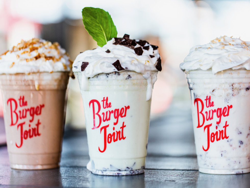 Burger Joint Heights boozy shakes