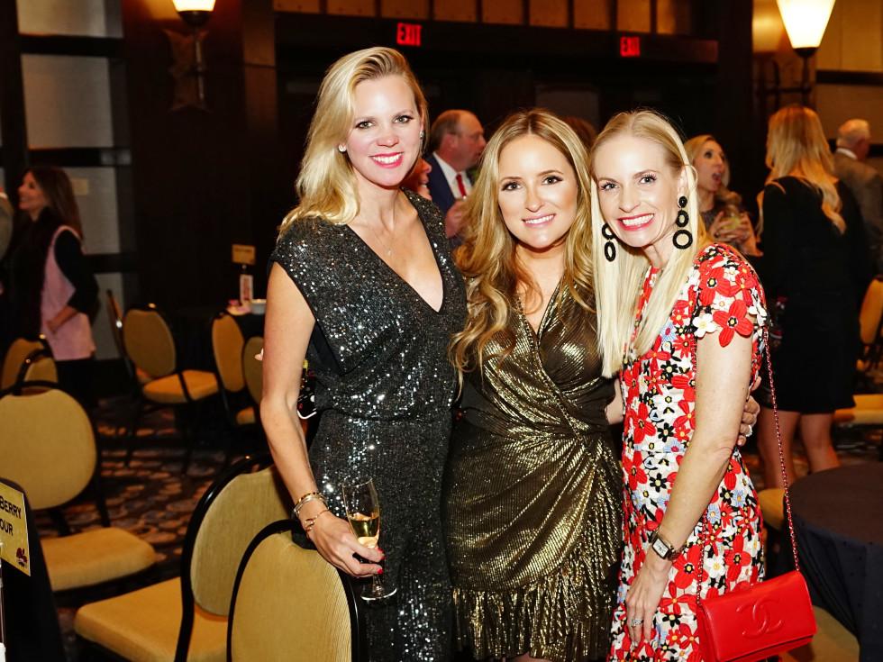 Rodeo Trailblazer Awards Luncheon 2020 Erin Hall, Stephanie Montalbano and Jill Smith