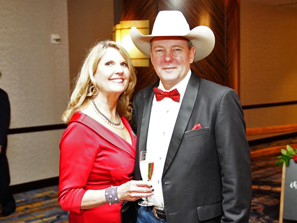 Rodeo Trailblazer Awards Luncheon 2020 Tammy and Shane Shepperd