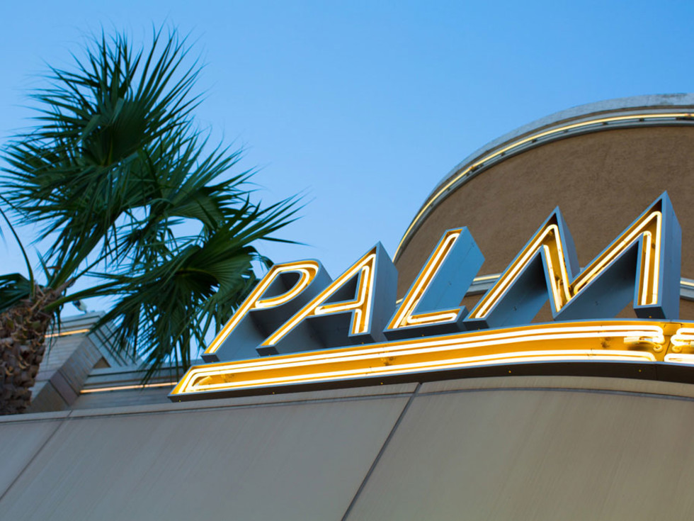 The Palm marquee