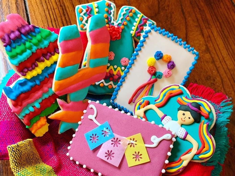 Cookies from Capcakes Bakery in San Antonio