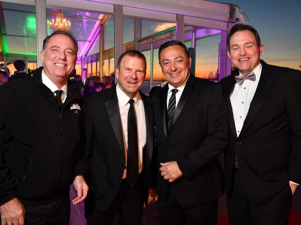 San Luis Salute 2020 Rich Handler, Tilman Fertitta, Art Acevedo, Brian Sullivan