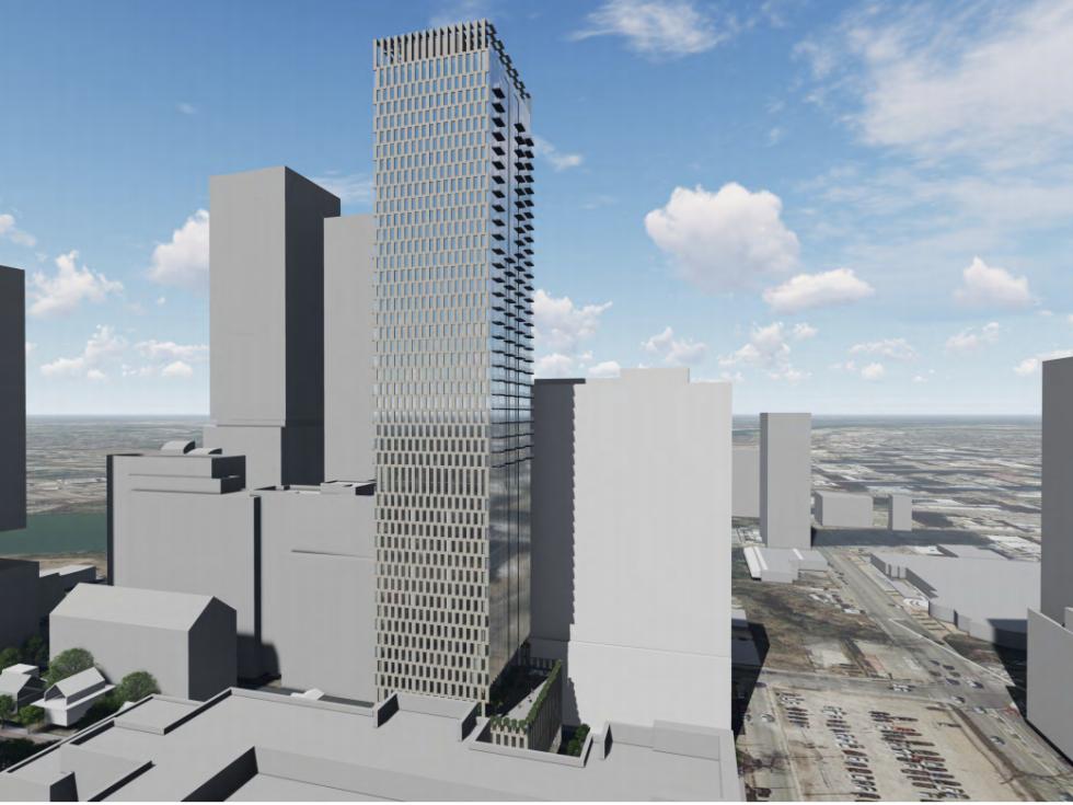 9092 rainey tower rendering