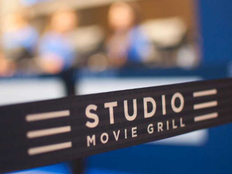 Studio Movie Grill, Memorial City, banner, October 2012, CityCentre