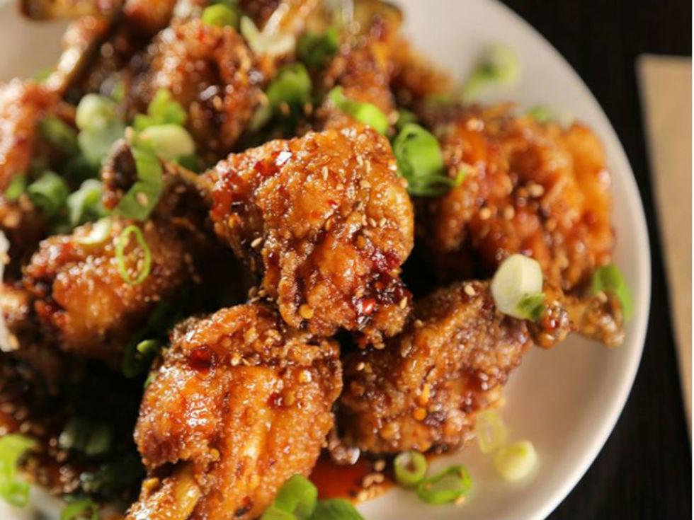 Guy Fieri chicken wings