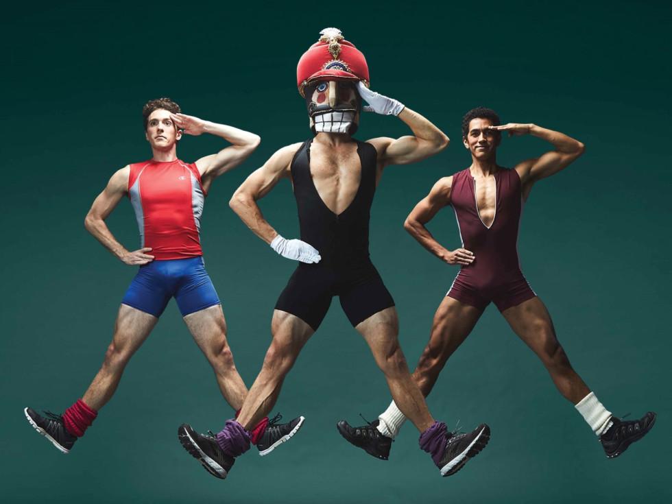 Texas Ballet Theater, Nutty Nutcracker 2020, Riley Moyano, Alexander Kotelenets, Jomanuel Velazquez