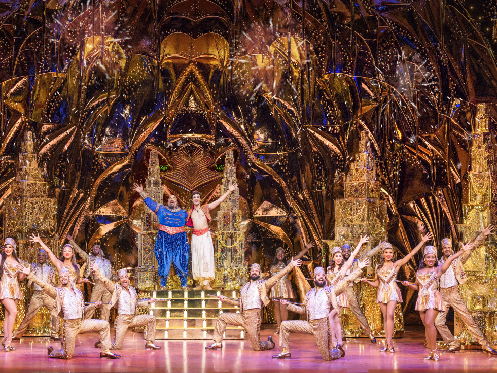 Aladdin north american tour genie