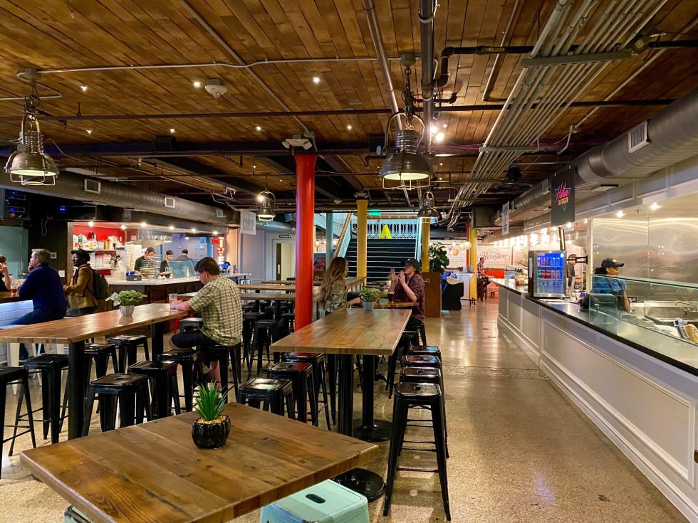 Underground Food Hall interior