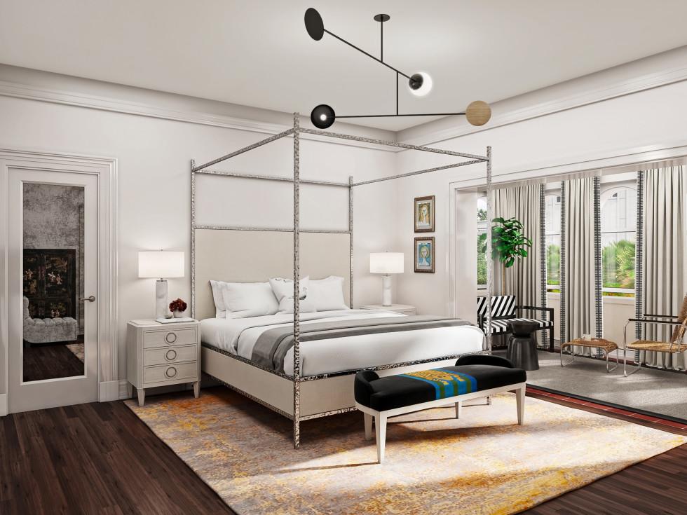 La Colombe d'Or mansion guest suite