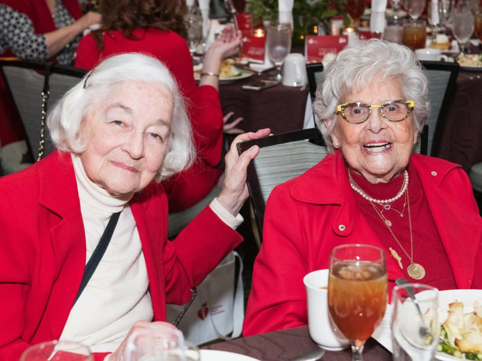 Evelyn Siegel and Rosalyn Rosenthal