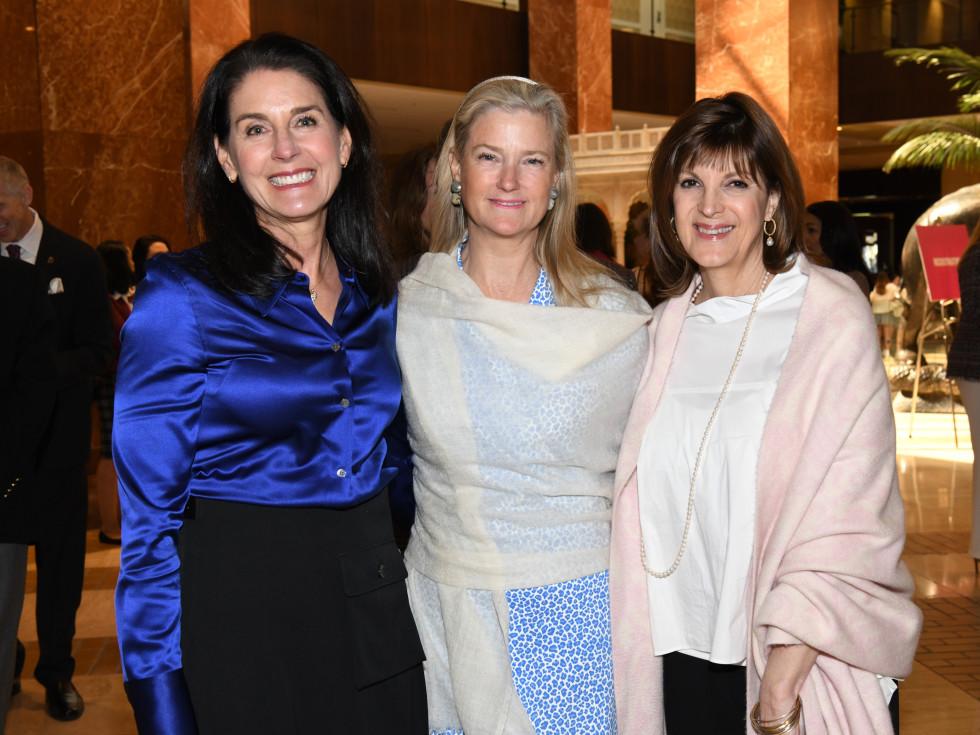 Cindy Yared, Kalita Blessing, Leslie Mertz