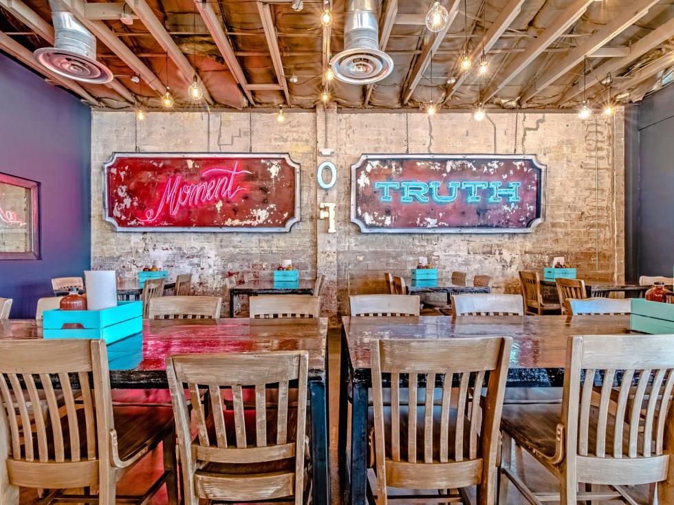 Truth Barbeque BBQ interior