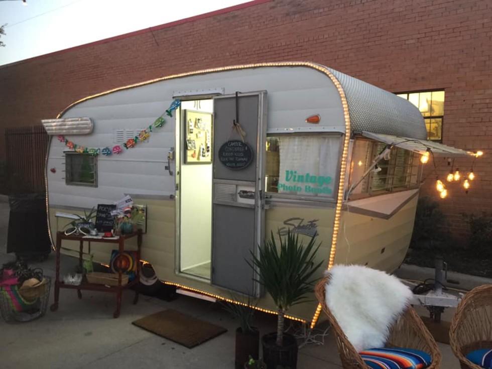 Camper Concierge photo booth