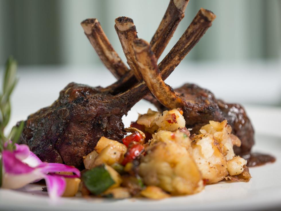 Ouisie's Table lamb chops