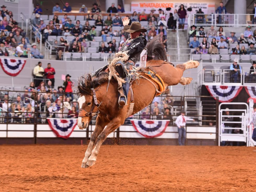 Fort Worth Stock Show & Rodeo 2020, Dickies Arena, bull riding