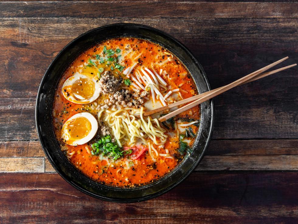 Kata Robata spicy soy ramen
