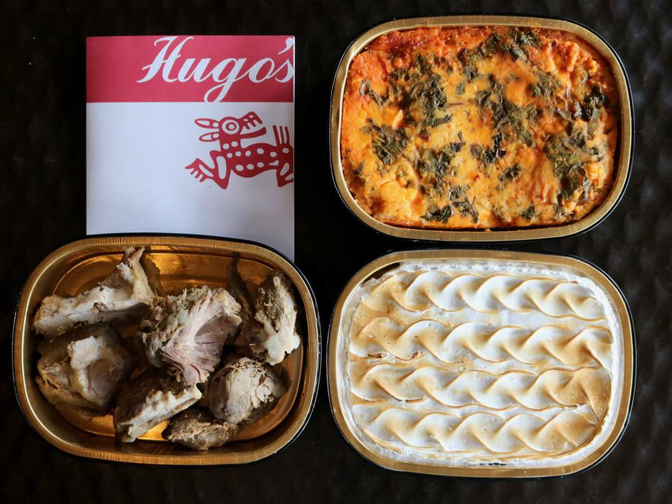 Hugo's H-E-B takeaway meals