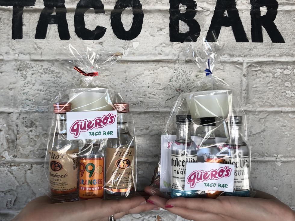 Gueros margarita cocktail kits to-go
