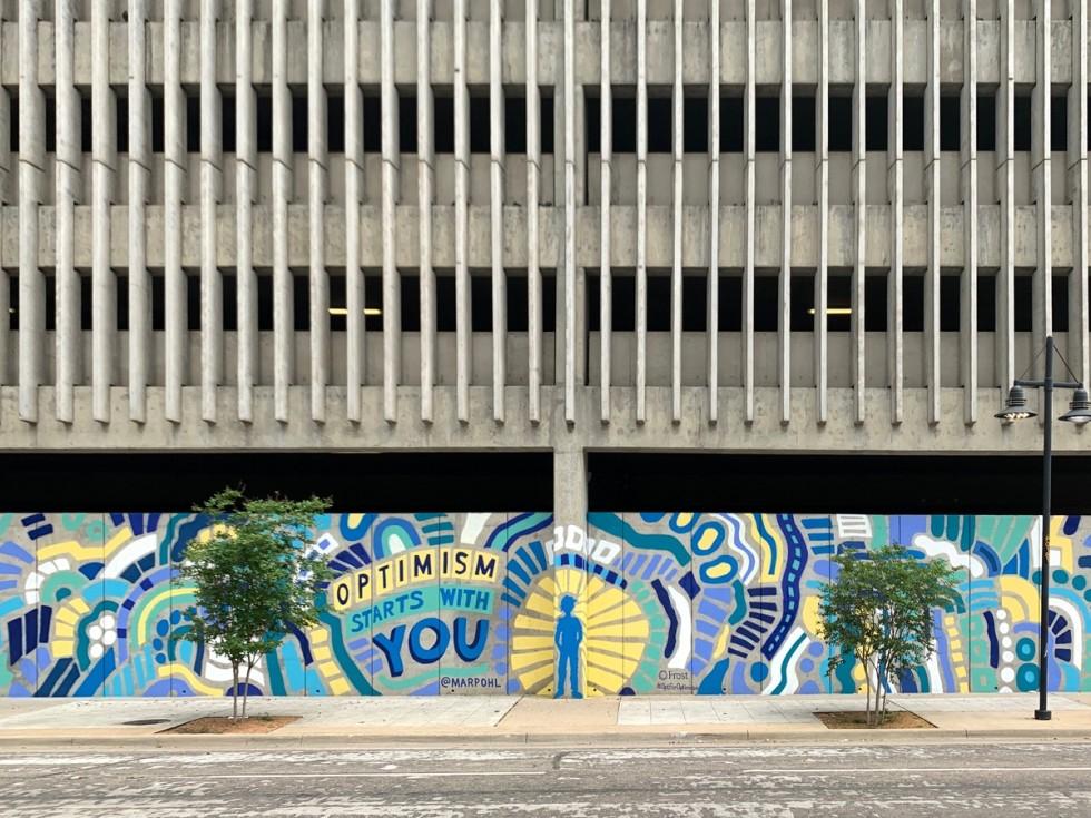 Dallas mural, Frost