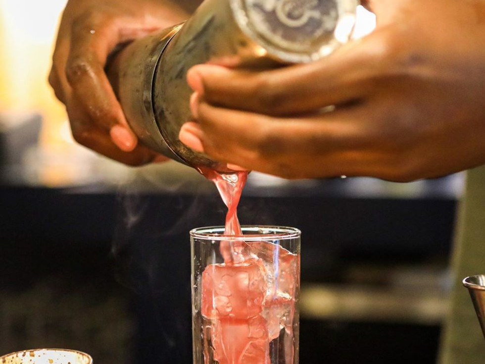 Intero Restaurant cocktail class