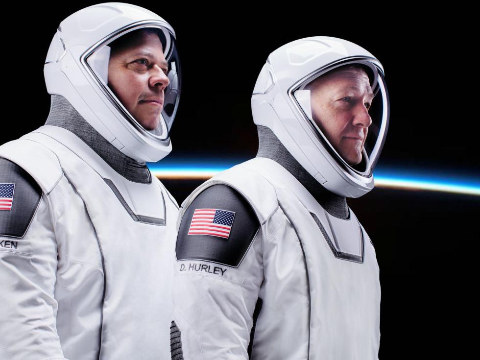 Behnken Hurley NASA astronauts