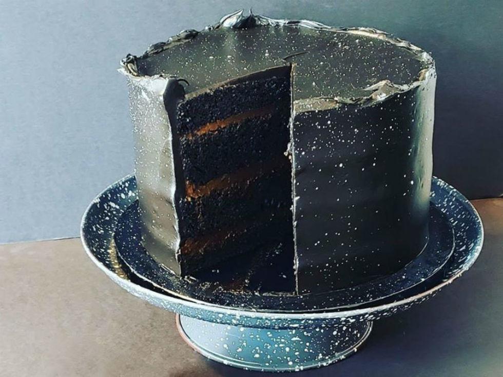 Loft22 blackout cake