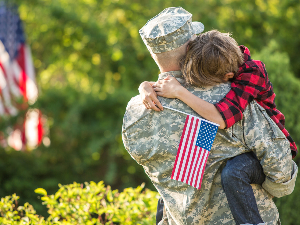 Folds of Honor, fallen soldier, patriotic