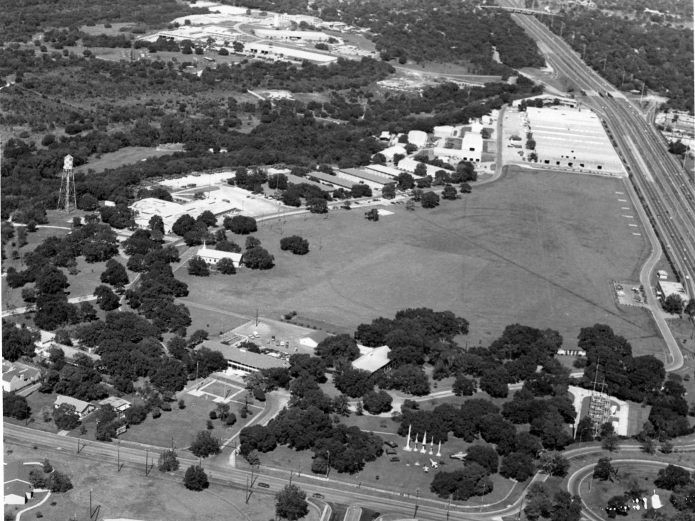 Camp Mabry aerial