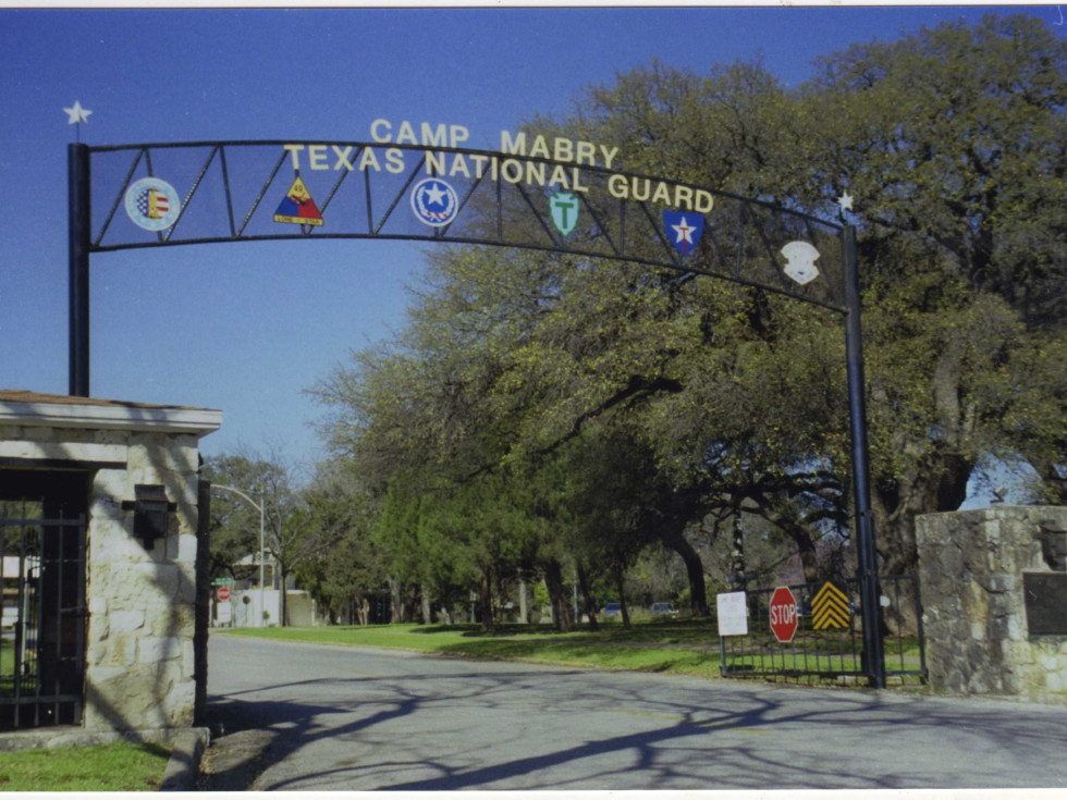 Camp Mabry entrance