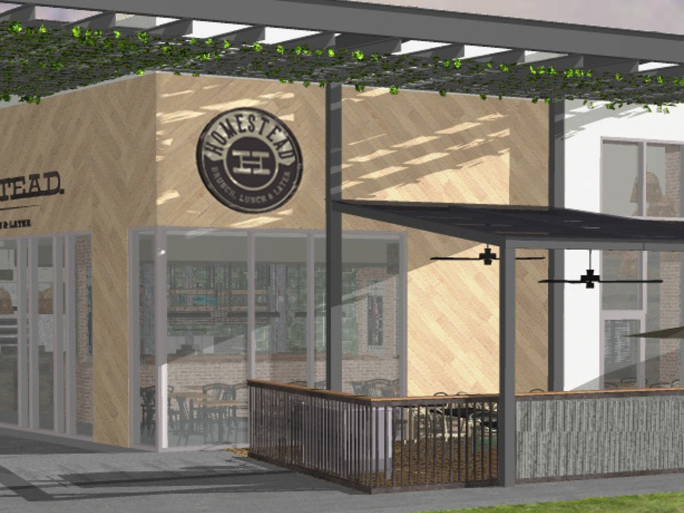 Homestead Kitchen & Bar rendering