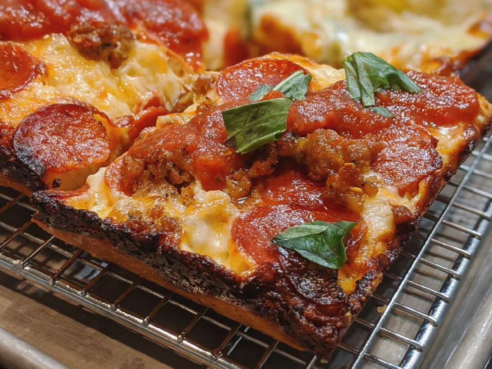 8 Mile Pies Detroit pizza
