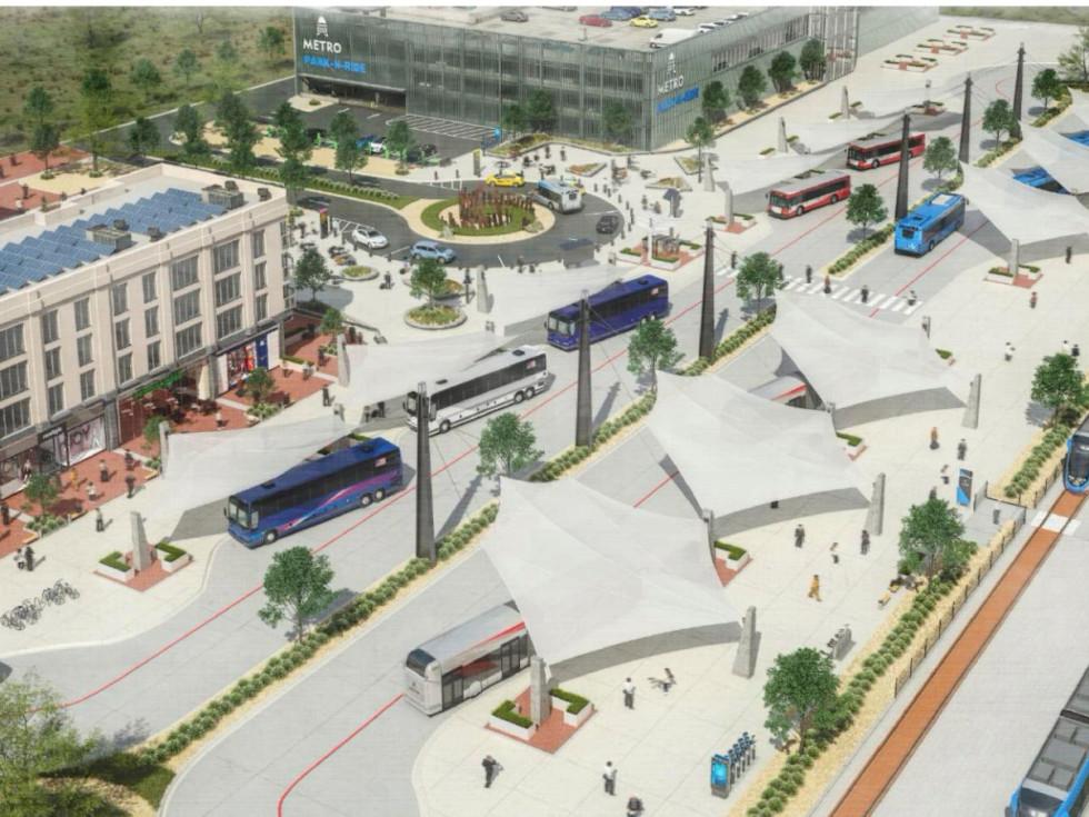 Project Connect regional transportation center